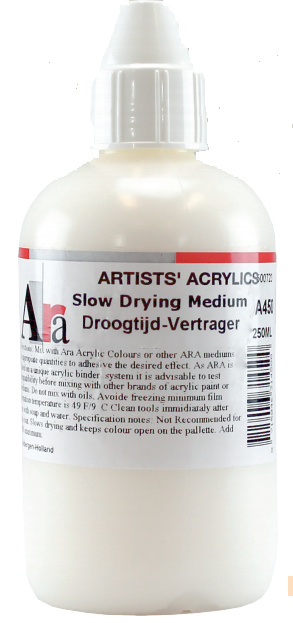 Ara: Slow drying medium