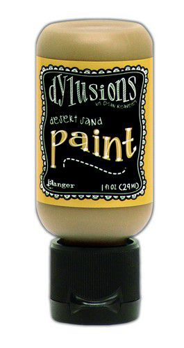 Desert Sand - Dylusions Paint - Flip Cap Bottle