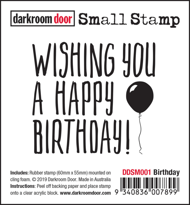 DarkroomDoor-Small Stamp Birthday