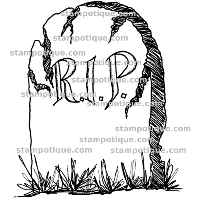Stampotique - 7448 - RIP Stone