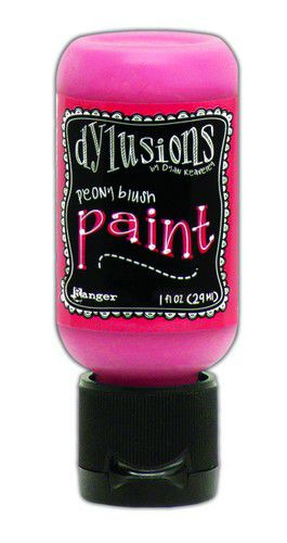 Peony Blush  - Dylusions Paint - Flip Cap Bottle