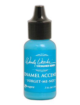 Enamel Accents: Forget me not