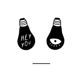 Hey you (A3) - Bulb London