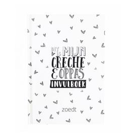 Invulboek 'Crèche en oppasboek' - Zoedt
