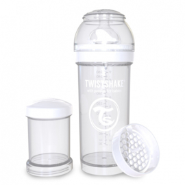 Babyfles White Diamond 260ml - Twistshake