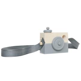 Houten camera GRIJS - Manowoods