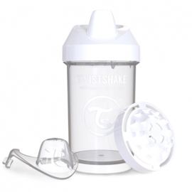 Crawler Cup White Diamond 300ml - Twistshake