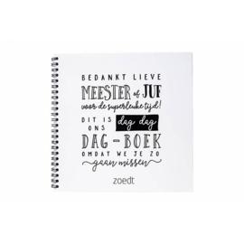 Invulboek 'Dag, dag, dagboek' - Zoedt