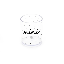 Mini Cup | Dot - Mint and Mini