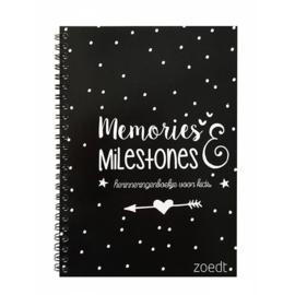 Invulboek 'Memories & Milestones' - Zoedt