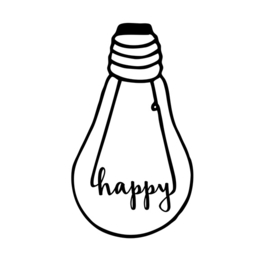 Happy (A3) - Bulb London