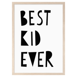 Best kid ever (A3) - Mini Learners