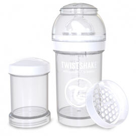Babyfles White Diamond 180ml - Twistshake