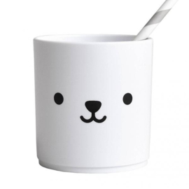 Bear tumbler WHITE edition - Buddy and Bear