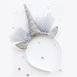 Unicorn diadeem GREY - Tiny Little Cactus