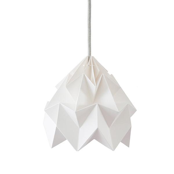 Moth lamp WIT - Studio Snowpuppe