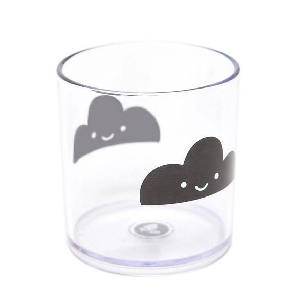 Happy clouds tumbler - Buddy and Bear