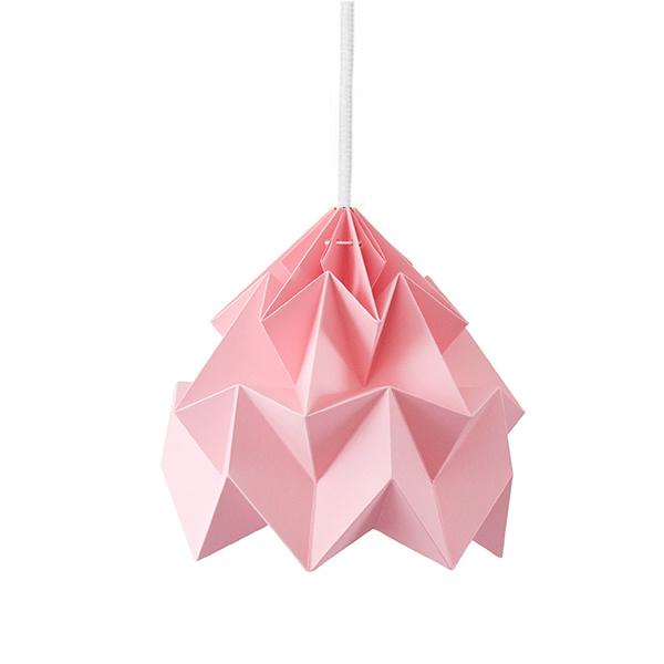 Moth lamp ROZE - Studio Snowpuppe
