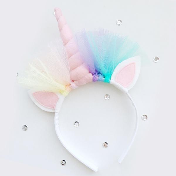 Unicorn diadeem PINK - Tiny Little Cactus