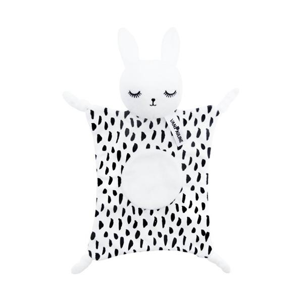 Knuffeldoekje Bunny WIT - vanPauline