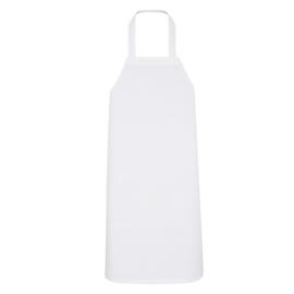 Apron, White, 80x100cm, Polycotton, Treb ELS
