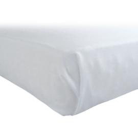 Bed Sheet, White, 178x320cm, Cotton Rich 70-30, Treb PH
