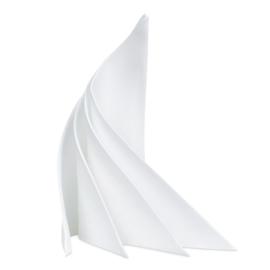 Napkins, White, 53x53cm, RAO