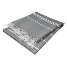 Hammam Towel, Grey, 90x145cm, Treb WS