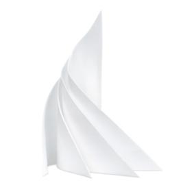 Napkins, White, 53x53cm, RER