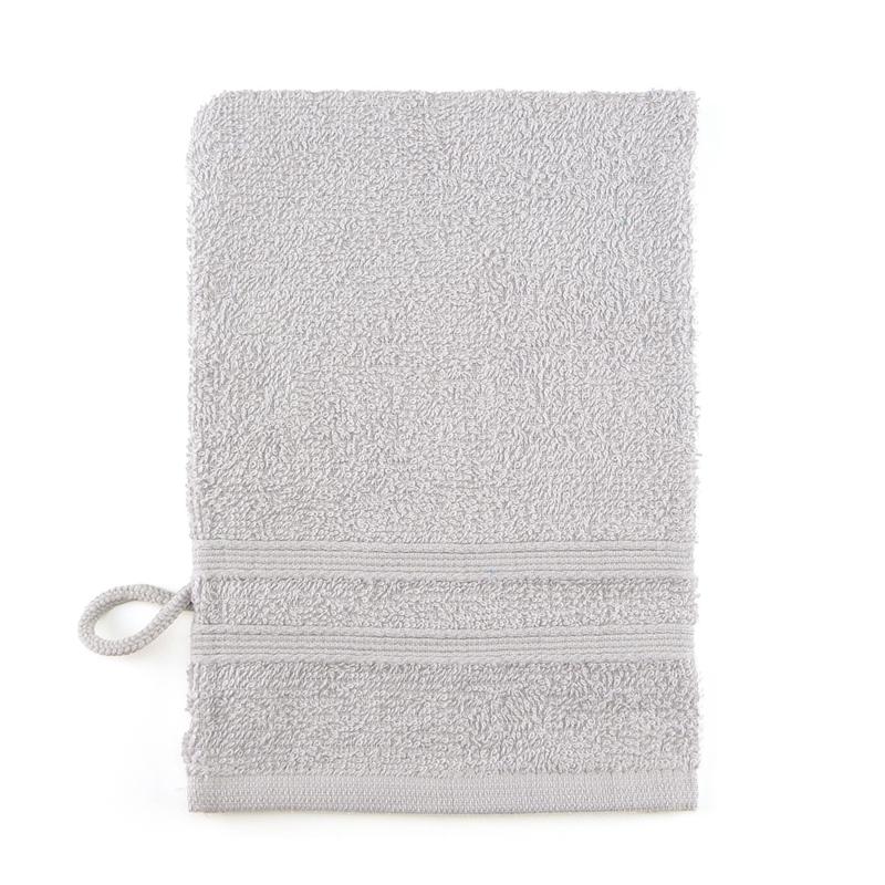 Washcloth, Gray, 15x22cm, Treb ADH