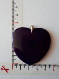donkerpaars hart