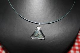 Blauw vlindertje (driehoek)