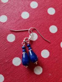Blauwe jade met lapis lazuli
