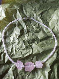 Rose quartz / rozenkwarts