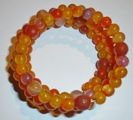 Oranje/gele armband