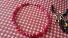 Hot Pink ketting