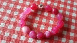 Hot pink armband