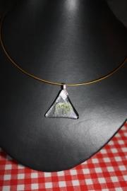 Geel/oker vlindertje (driehoek)