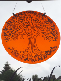 Tree of Life (doorzichtig oranje rond)