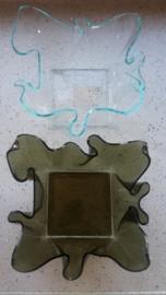 Gedrapeerde vazen/schalen