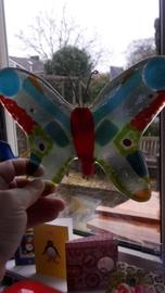 Kleurige vlinder