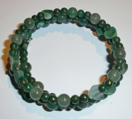 Groene armband
