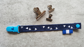 Stoffen speenkoord marineblauw