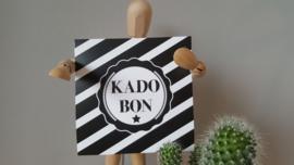 10,- kadobon