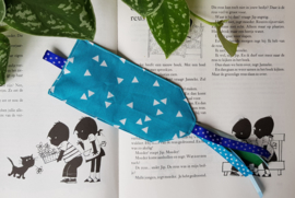 Boekenlegger Zeeblauw