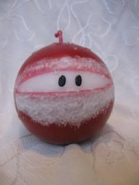 Kerstmankaars bol medium