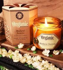 Geurkaars Jasmijn Organic Goodness