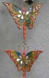 Vlinder mobiel roze Thailand