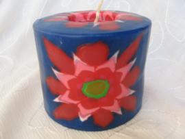 Rode Bloem  Swazi Candle