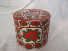 Kerstroos klein Swazi Candle